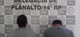 Ladrões de jazigos são presos em Planalto