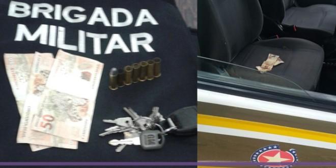 Homem é preso ao tentar subornar PMs com R$ 500 em Rodeio Bonito