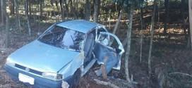 Saída de pista deixa um pessoa ferida em Taquaruçu do Sul