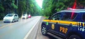 """PRF alerta sobre golpe do """"carro quebrado"""" na região"""