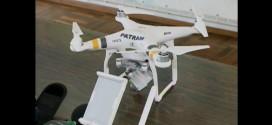Drone irá ajudar fiscalizações da Patram