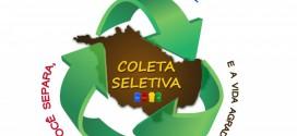 Município dará início a coleta seletiva do lixo