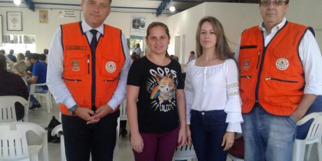 "Município presente no workshop ""projeto capacitar da defesa civil"""