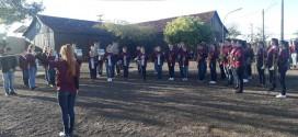 Banda Marcial participa de Mostra Regional de Bandas e Fanfarras