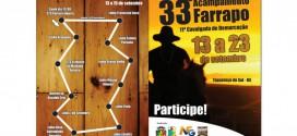 Município organiza 33º Acampamento Farrapo e 11ª Cavalgada da Demarcação