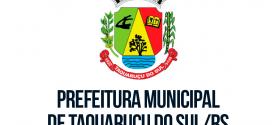 Concurso público de Taquaruçu do Sul será neste final de semana