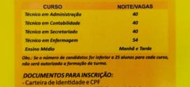 Inscrições abertas para o Ensino Médio e Cursos Técnicos da Escola José Cañellas