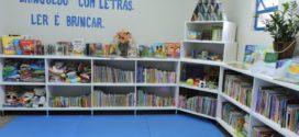 Taquaruçu do Sul: Emei inaugura biblioteca com acervo literário diversificado