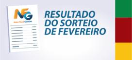 Taquaruçu do Sul tem ganhador no sorteio estadual de fevereiro do NFG