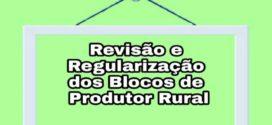 Aberto período para revisão dos blocos de produtor