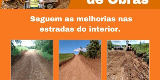 Concluída recuperação da estrada da Linha Santo Antônio