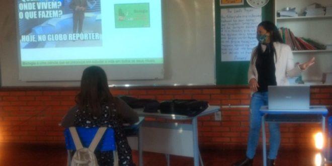 Escola municipal realiza atividade do Projeto de Iniciação à Vida Profissional