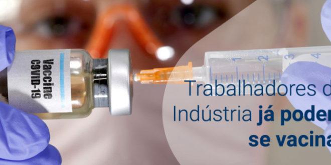 Covid-19: Taquaruçu do Sul inicia vacinação para trabalhadores industriais