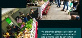 Curso de tecnologia em Agropecuaria da URI realiza atividade prática na propriedade no município