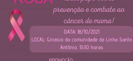 Um toque de cuidado – Bate papo sobre prevenção e combate ao câncer de mama